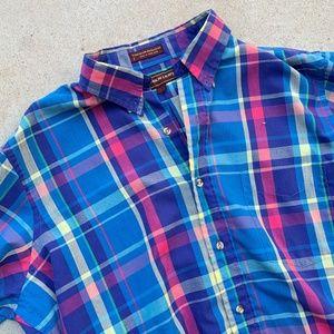 Vintage CHAPS Ralph Lauren Plaid L/S Casual Shirt